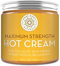 Capsaicin Powered Hot Cream - Natural Muscle Relaxer Cream for Sore Muscles