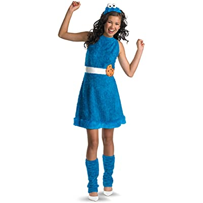 Sesame Street Cookie Monster Teen Girls Costume, Large/10-12: Toys & Games