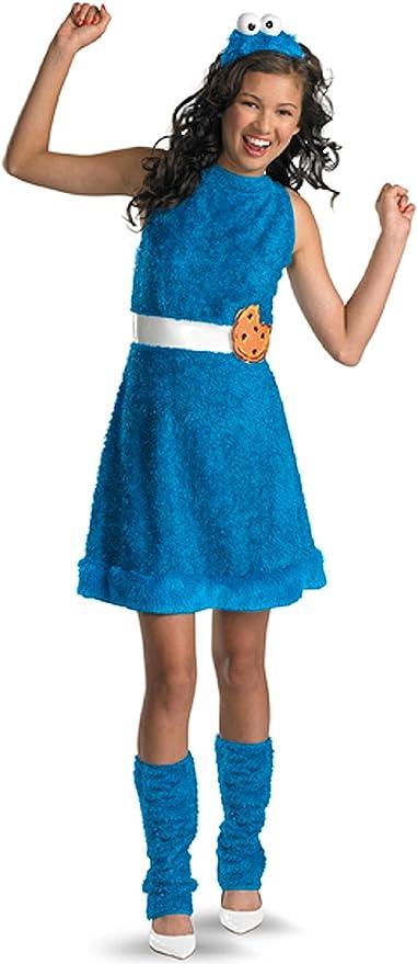 Disfraz 187276 Cookie Monster Tama-o Child-Tween Vestuario: 14-16 ...