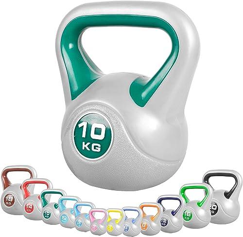 Gorilla Sports Kettlebell Kunststoff