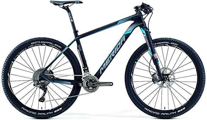 Merida Big.Seven 9000 27, 5 pulgadas Mountain Bike Negro/Azul ...