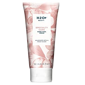 Hand Cream for Dry Skin, Specialty Care Hand and Nail Lotion, by H2O+ Beauty, 6 ounce
