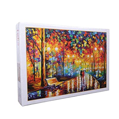 YUMDO 1000 Pieces Adult Children Jigsaw Puzzles Landscape Painting Puzzles: Toys & Games [5Bkhe1204922]