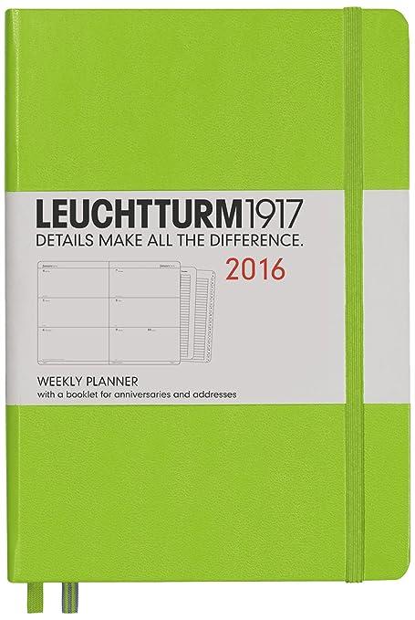 Leuchtturm1917 - Agenda semanal (podría no estar en español ...