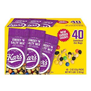 Kar's Sweet 'n Salty Mix 40 Individual 2 oz Bags (1) (Basic)