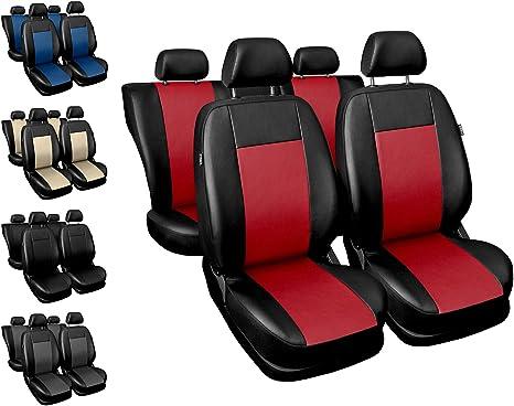Schwarze Sitzbezüge für Alle OPEL Autos Autositzbezug VORNE