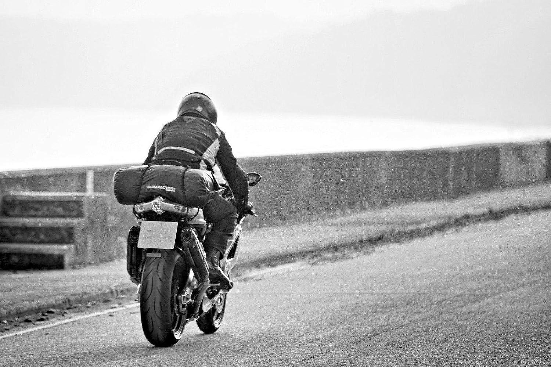 para motocicletas y ciclomotores resistente al agua impermeable Bolsa cil/índrica Supafactory de 20 litros
