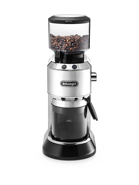 De'Longhi KG 520.M Elektrische Kaffeemühle, silber De' Longhi