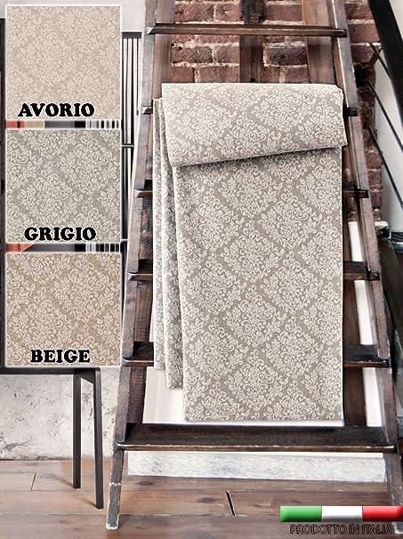 160x280 cm Beige Centesimo Web Shop Telo ARREDO COPRITUTTO COPRILETTO in 2 Misure Prodotto in Italia Multiuso Gran Foulard COPRIDIVANO COPRIPOLTRONA Jacquard