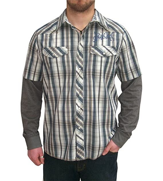 Rip Curl Rosario Orion de doble capa azul camiseta