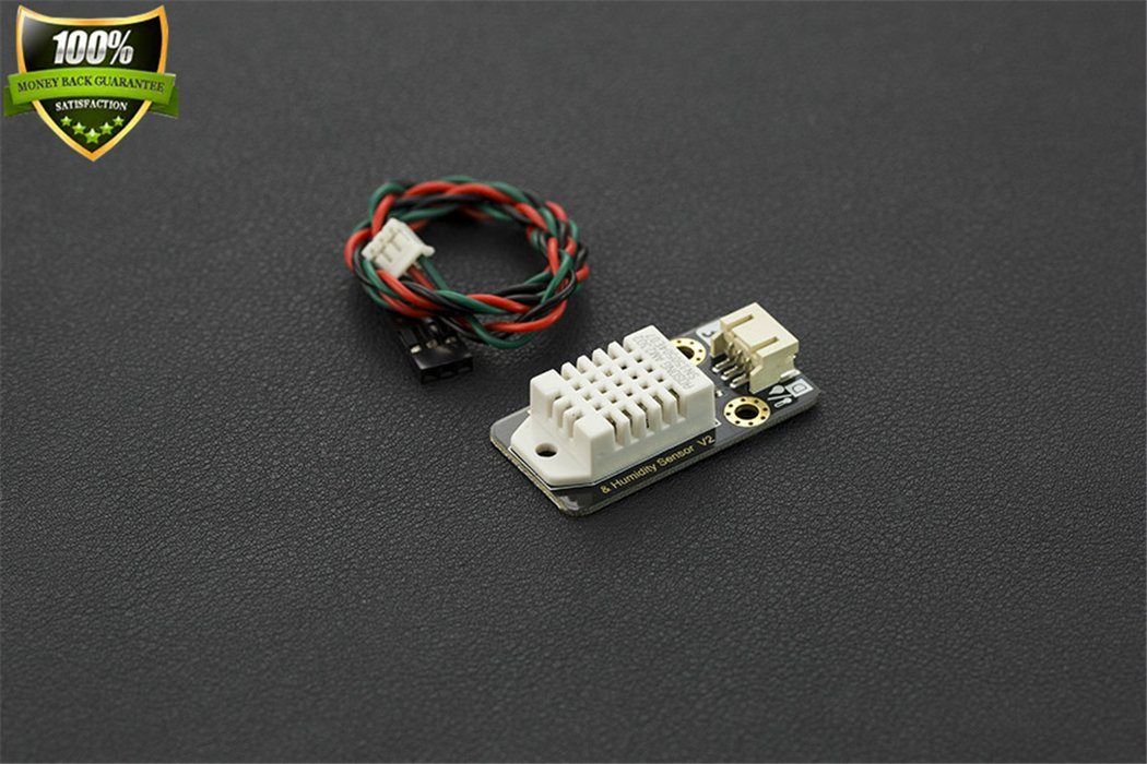 DFROBOT DHT22 Temperature And Humidity Sensor A Capacitive Humidity Sensor And A NTC Temperature Measuring Element Realizing The Interaction Effect Related To Temperature And Humidity Perception