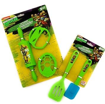 Teenage Mutant Ninja Turtles niños cocinar y hornear Set ...