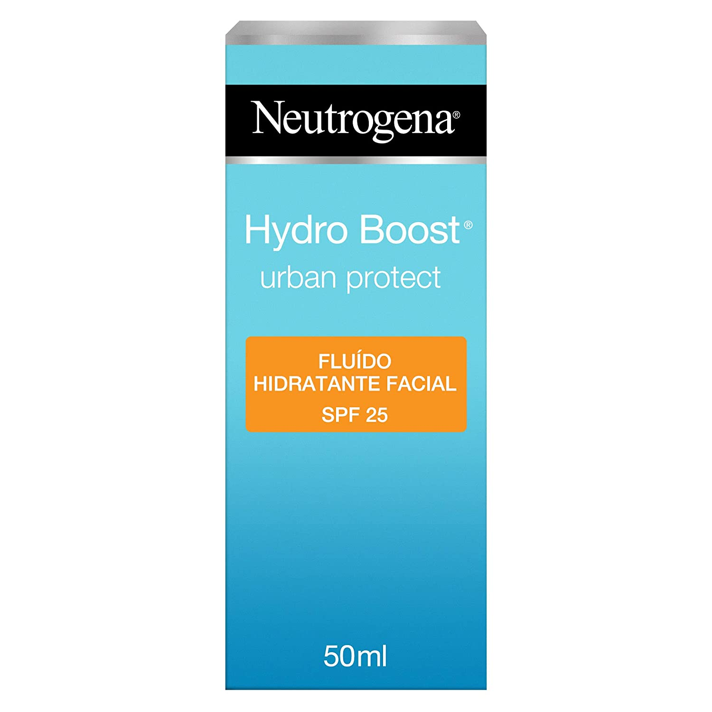 Neutrogena Hydro Boost Urban Protect Fluido Hidratante Facial SPF 25, 50 ml