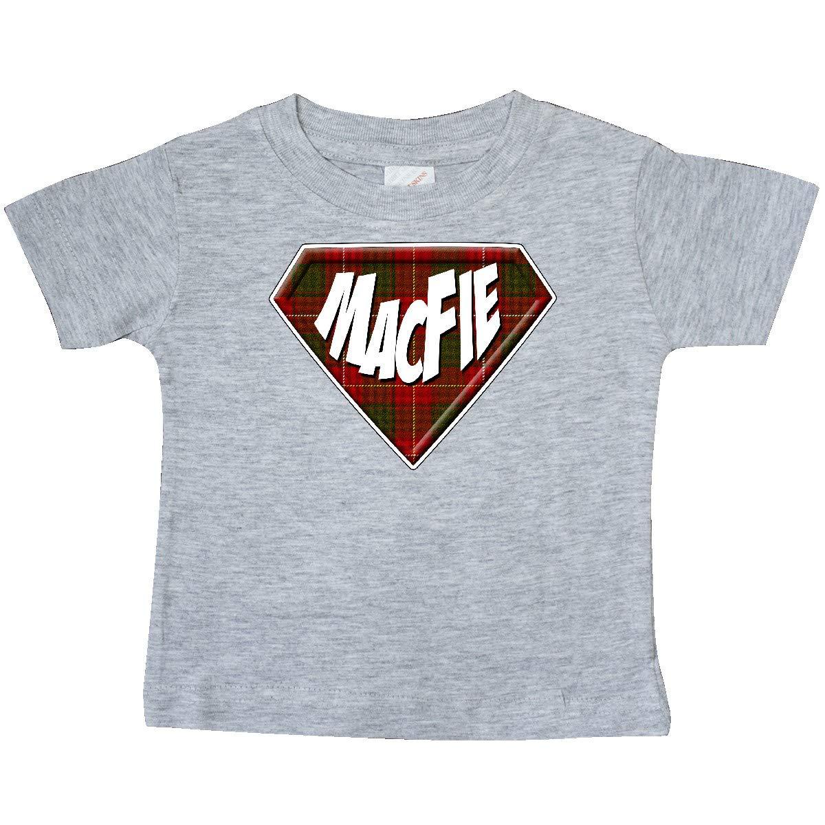 inktastic MacFie Tartan Superhero Baby T-Shirt