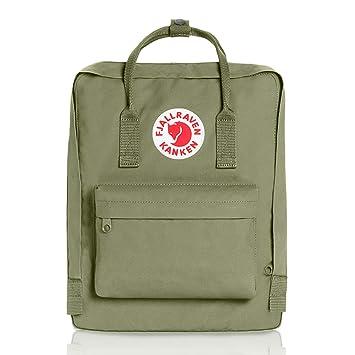 Fjallraven Lightweight Kanken Kids Outdoor Hiking Backpack Green38