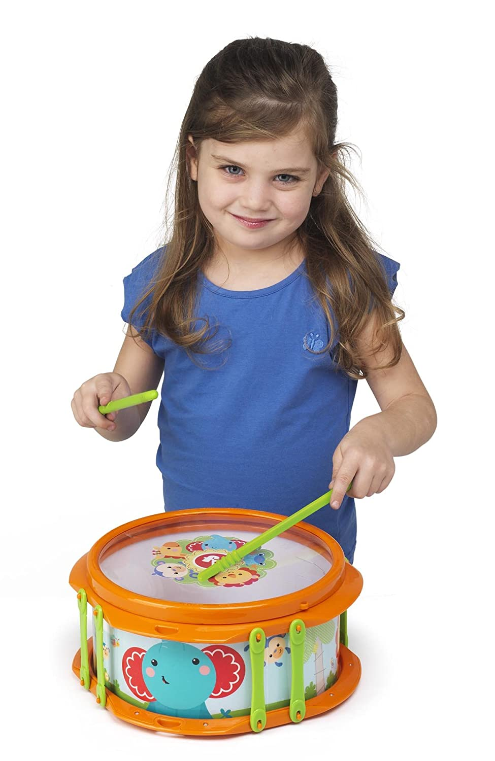 Fisher Price Music Musical Band Drumset Music Set