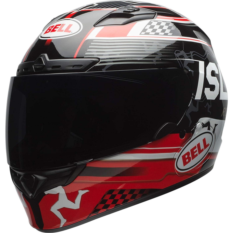 Bell Helmet qualifier dlx mips isle of man black//red s