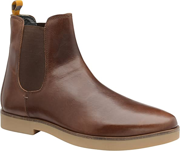 Frank Wright Dutch Brunette Oiled Suede