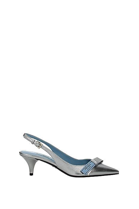 2a93b46b5 Prada Sandals Women - Leather (1I375INAPPAMORDORE) UK: Amazon.co.uk: Shoes &  Bags
