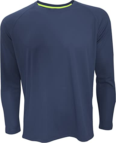Active By Stedman - Camiseta Deportiva Transpirable de Manga ...