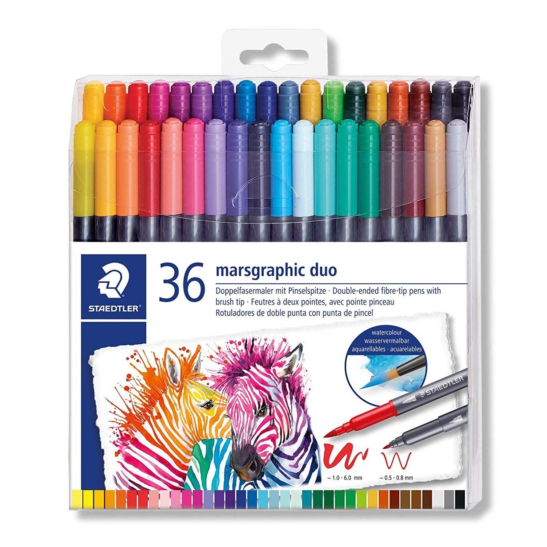 Stadler Color Brush Pen DUO 36 Colors 3001 TB36