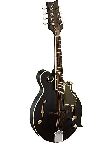 Ortega RMFE40SBK - Mandolina (8 cuerdas, tipo bluegrass), color negro