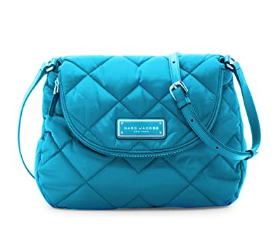 fe683157902 Marc by Marc Jacobs Natasha Quilted Nylon Crossbody Handbag (Turquoise)