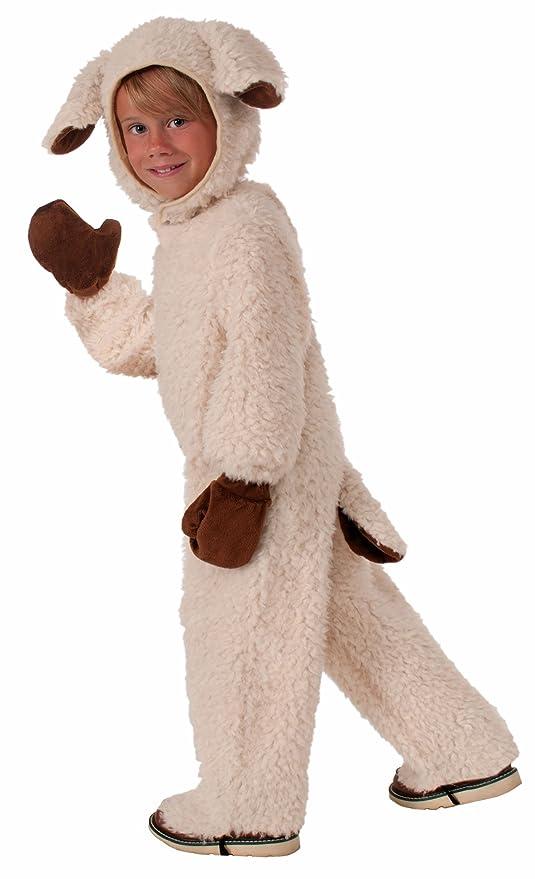 Forum Novelties Plush Cuddlee Lovable Lamb Costume Child Small Sc 1 St Amazon.com  sc 1 st  Germanpascual.Com & Child Lamb Costume u0026 Forum Novelties Plush Cuddlee Lovable Lamb ...