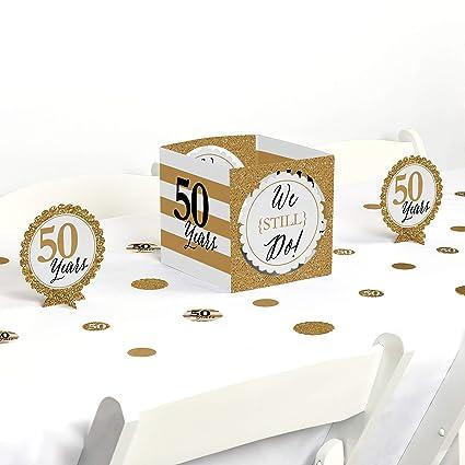 Amazon Big Dot Of Happiness We Still Do 50th Wedding