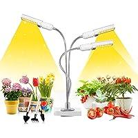LED Grow Light for Indoor Plants, Mrhua 68W 156 LEDs Tri Head Auto On/Off Plant Light Sunlike Full Spectrum Grow Lamp…
