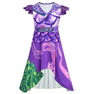 ugoccam Child Performance Clothing Irregular Halloween Dress: Clothing