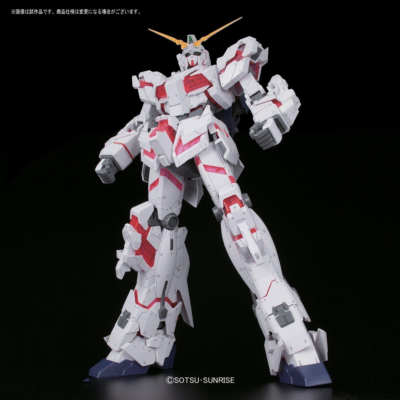 Bandai Hobby Mega Size 1/48 Unicorn Gundam [Destroy Mode] Gundam UC Model Kit Figure by Bandai Hobby (Image #1)