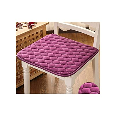 Baota 1Pcs Modern Car Seat Cushion Dining Mat Pad Kitchen Chair Cushions Mat Floor Cushions Home Decor, Purple 1, About 50X50Cm : Garden & Outdoor