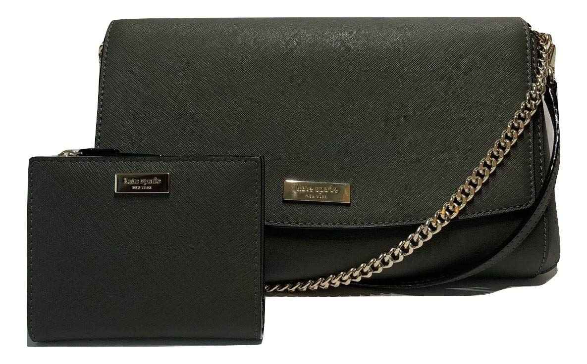 Kate Spade New York Laurel Way Greer bundled with Small Shawn wallet (Evergreen)