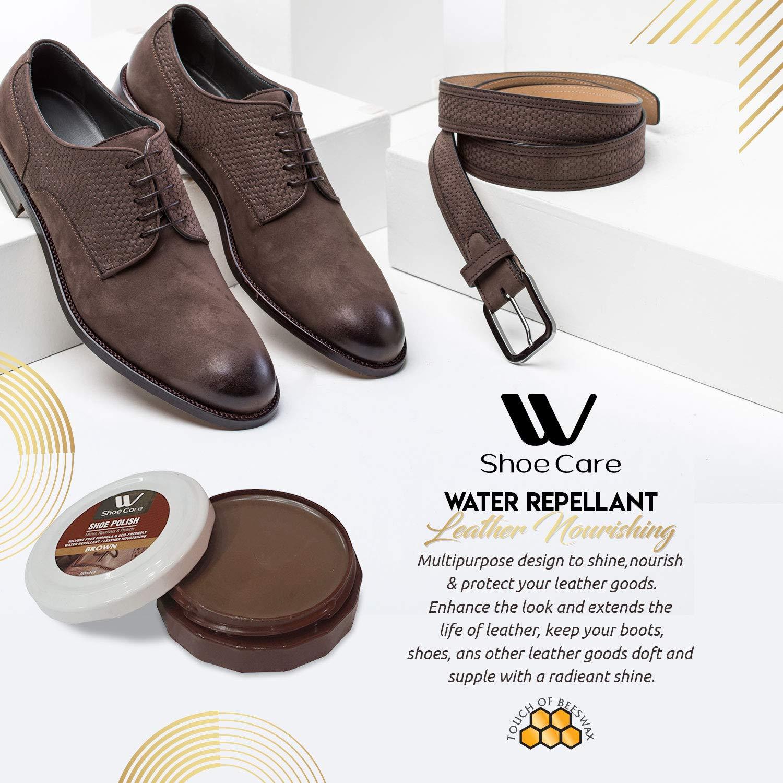 4e0099a44b0a2 Amazon.com: W Shoe Care Shoe Polish Brown, Black and Neutral: Home  Improvement