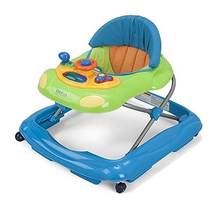 Amazon.com: Delta Children Lil Fun Andador., Azul: Baby