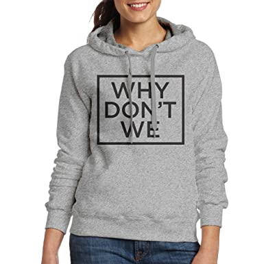 f0f9ba965 WHY DON'T WE Black Logo Fashion Hoodie Sweatshirt Ash: Amazon.ca: Clothing  & Accessories
