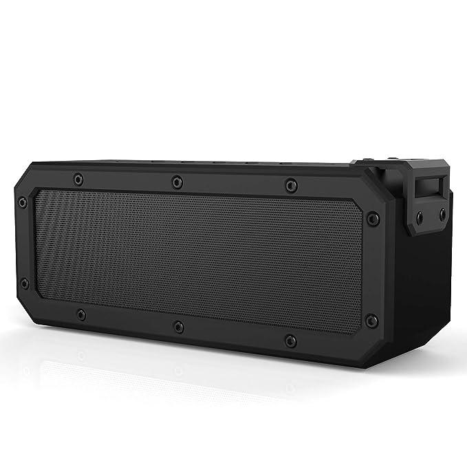 SINOBAND 40W Altavoz inalámbrico portátil Bluetooth 4.2 Impermeable IPX7 Antipolvo a Prueba de Golpes 15 Horas Tiempo de reproducción TWS Altavoces para ...