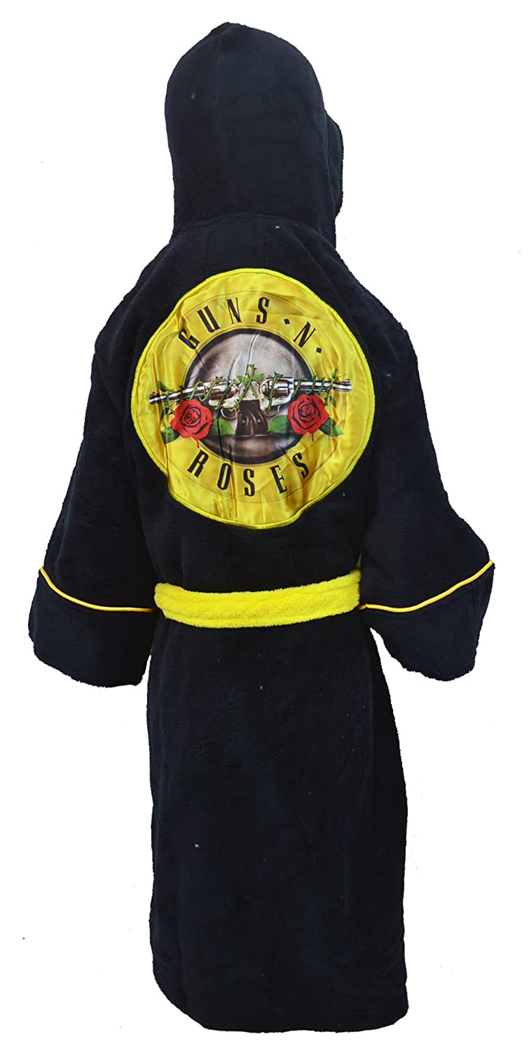 Gar/çon Fille Enfants Enfant Robe QMerch Guns and Roses Enfants Robe de Chambre//Peignoir