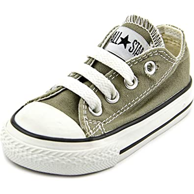 a34cbd7287c233 Converse 7J794 Kids Toddler Chuck Taylor All Star Low Charcoal