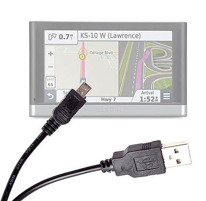 DURAGADGET Mini USB Digital Data Sync Cable - Compatible with Garmin Nuvi  2597 LMT/Garmin NUVI 3597LMT / Garmin nuvi 3598LMT-D/Garmin nuvi 2547LM /