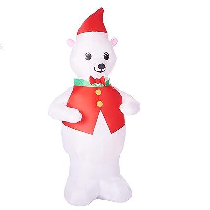 Amazon Com Airblown Inflatable Polar Bear 7 Ft Outdoor