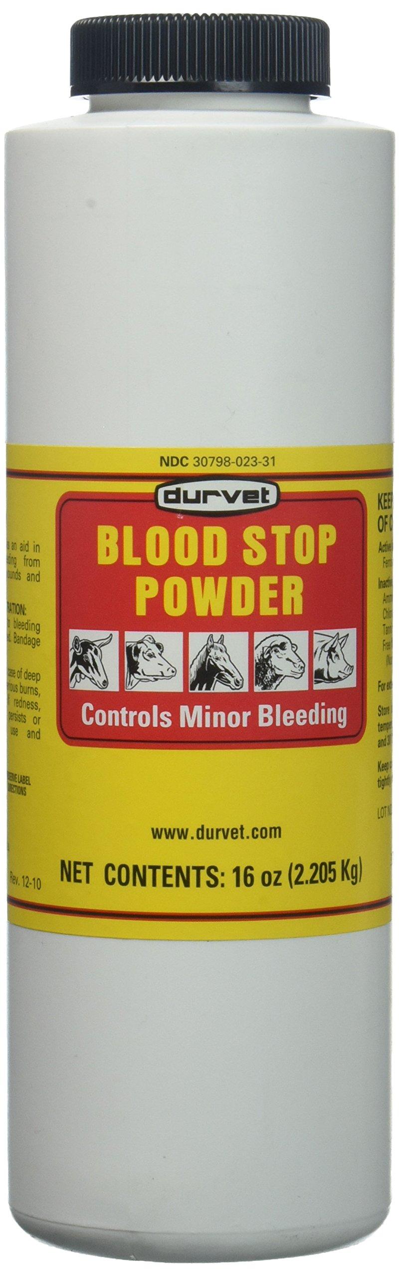 Durvet Blood Stop Powder 16 Oz