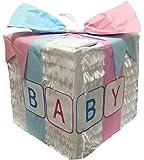APINATA4U White Baby Gift Box Pinata