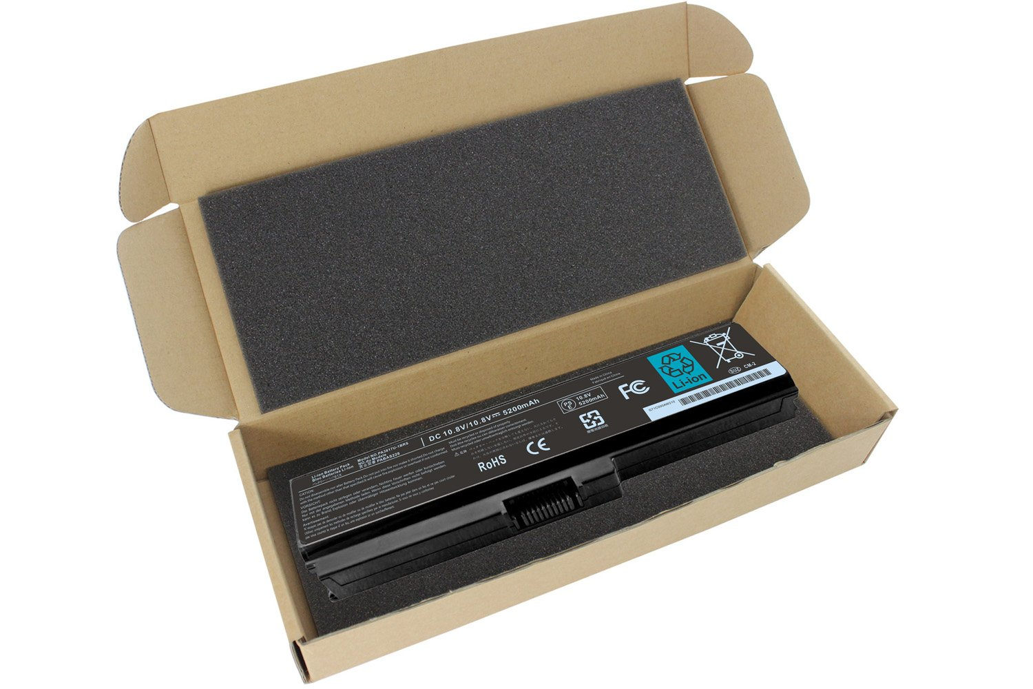 Easy&Fine PA3817U-1BRS Laptop Battery for Toshiba Satellite A665 A665-S5170 A665-S6086 A665-S6050 M645-S4050 M645-S4070 M505-S4940 L755-S5277 L775D-S7222 P755-S5265 C675-s7103 C675-s7106 by Easy&Fine (Image #5)