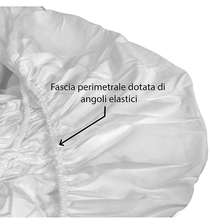 1 Piazza E Mezza tex family COPRIMATERASSO Impermeabile Sanitario PVC