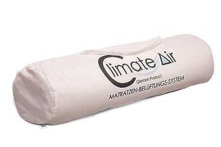 Climate-Air Matratzenauflage Topper mit innovativem Belüftungs-System inkl. hochwertigem Silver Life Bezug I Dekubitus Prophy