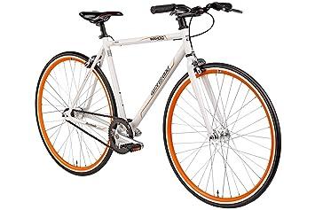 "reputable site e0284 334d9 Bermuda Fixie 28 Zoll Singlespeed Retro Fahrrad 28"" Fitnessbike Fixed Gear  Rennrad Bike Flip Flop Nabe 52 cm/56 cm Rahmenhöhe Damen Herren in 4 Farben  ..."