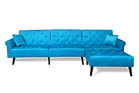 Pleasing Harperbright Designs Sofa Bed Set Sectional Sofa Living Room Furniture Sofa Set Sleeper Couch Bed Modern Contemporary Upholstered With Extra Wide Spiritservingveterans Wood Chair Design Ideas Spiritservingveteransorg