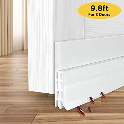 Weather Stripping for 3 Doors, Ohuhu 118